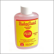 Rubyfluid Liquid Soldering Flux 2 oz