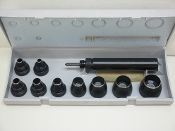 C S Osborne No. K-156 Multi-Purpose Self Centering Punch Kit