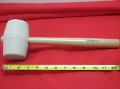 C.S. Osborne & Co. No. 396-3  White Rubber Mallet