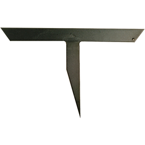 "Freund Steel 12"" Straight Slater's Stake Or Slate Anvil"